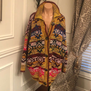 NWT FP Isle of Skye Sweater coat